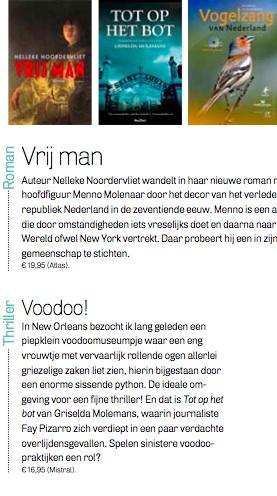 Recensie weekblad Margriet